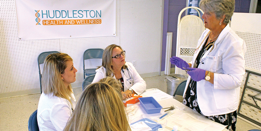 Nurse Practitioners  Make History in  Huddleston
