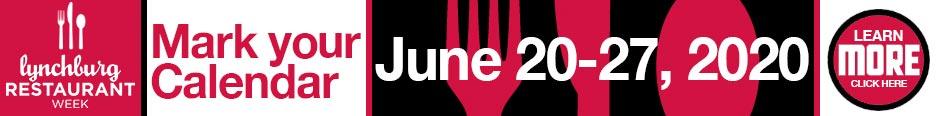 Lynchburg Restaurant Week 728w