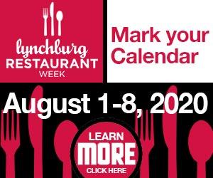 Lynchburg Restaurant Week 300X250