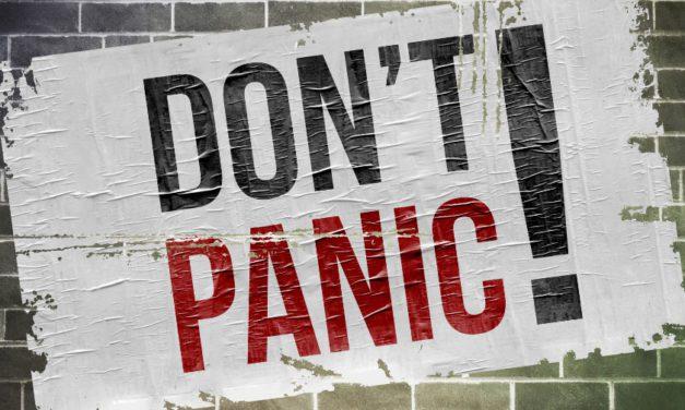 Don't Panic, Pivot!